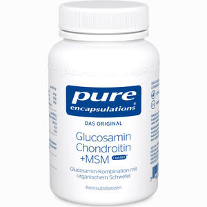 Abbildung von Pure Encapsulations Glucosamin + Chondroitin + Msm Kapseln 60 Stück