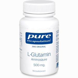 Abbildung von Pure Encapsulations L- Glutamin 500 Mg Kapseln 90 Stück