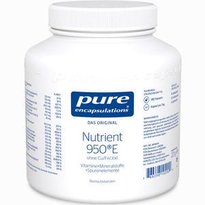 Abbildung von Pure Encapsulations Nutrient 950e Ohne Cu/Fe/Jod Kapseln 180 Stück