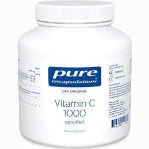 Abbildung von Pure Encapsulations Vitamin C 1000 Gepuffert Kapseln 250 Stück
