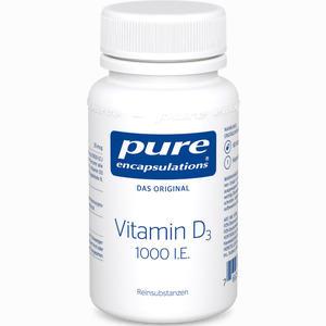 Abbildung von Pure Encapsulations Vitamin D3 1000 I.e. Kapseln 60 Stück