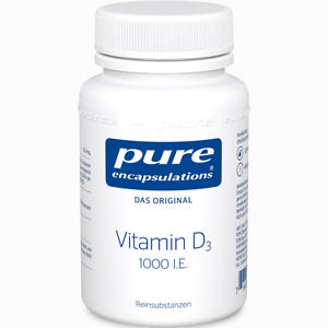Abbildung von Pure Encapsulations Vitamin D3 1000 I.e. Kapseln 120 Stück