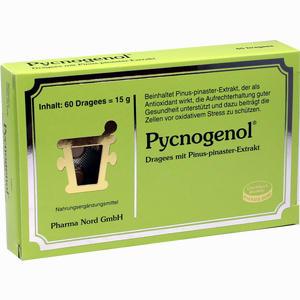 Abbildung von Pycnogenol Kiefernrindenextrakt Dragees 60 Stück