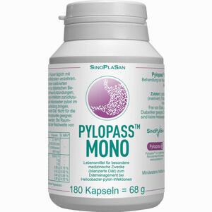 Abbildung von Pylopass Mono 200 Mg bei Helicobacter Pylori Kapseln 180 Stück