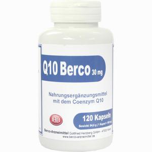 Abbildung von Q 10 Berco 30mg Kapseln 120 Stück