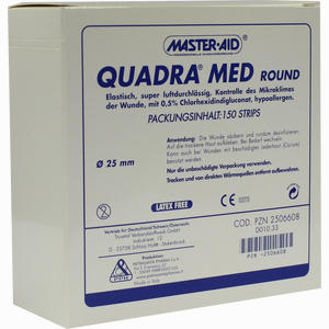 Abbildung von Quadra Med Round 22,5mm Strips 150 Stück
