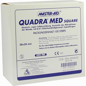 Abbildung von Quadra Med Square 38x38mm Strips 100 Stück