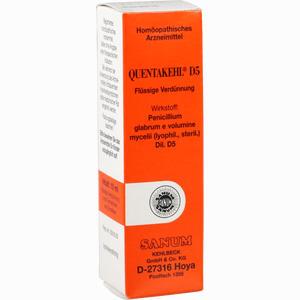 Abbildung von Quentakehl D5 Tropfen 10 ml