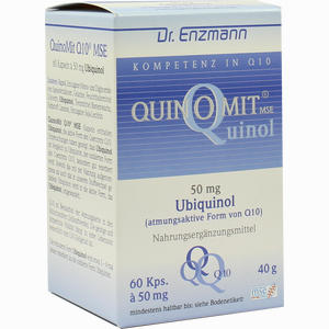 Abbildung von Quinomit Q10 Kapseln 60 Stück