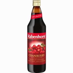 Abbildung von Rabenhorst Cranberry- Muttersaft  700 ml