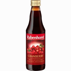 Abbildung von Rabenhorst Cranberry Muttersaft  330 ml