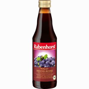 Abbildung von Rabenhorst Heidelbeer Bio Muttersaft  330 ml