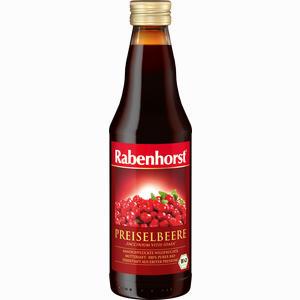 Abbildung von Rabenhorst Preiselbeer Muttersaft  330 ml