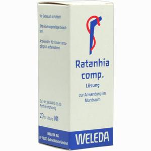 Abbildung von Ratanhia Comp Aeusserl Liquidum 20 ml