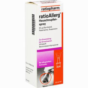 Abbildung von Ratioallerg Heuschnupfenspray Nasenspray 10 ml