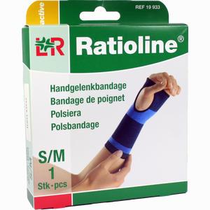Abbildung von Ratioline Active Handgelenkbandage Größe S/m  1 Stück