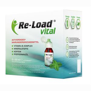 Abbildung von Re- Load Vital 6er Multipack Flaschen 6 x 60 ml