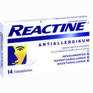 Abbildung von Reactine Tabletten  14 Stück