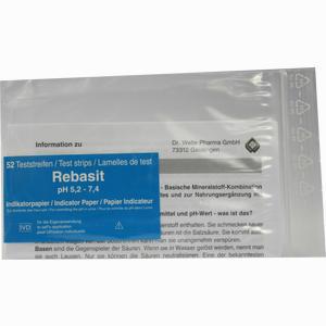 Abbildung von Rebasit Indikatorpapier Teststreifen 1 Packung