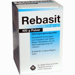 Abbildung von Rebasit Mineral Pulver 400 g