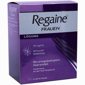 Abbildung von Regaine Frauen Lösung 3 x 60 ml