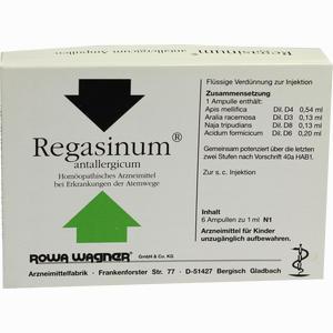 Abbildung von Regasinum Antallergicum Ampullen 6 x 1 ml