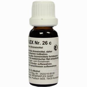Abbildung von Regenaplex 26 C Tropfen 15 ml