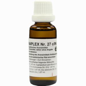 Abbildung von Regenaplex 27 C/in Tropfen 30 ml