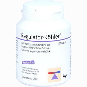 Abbildung von Regulator- Köhler Kapseln 100 Stück