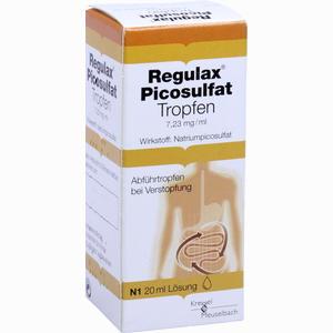 Abbildung von Regulax Picosulfat Tropfen 20 ml