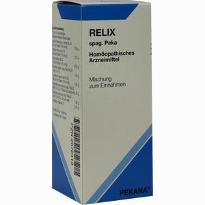 Abbildung von Relix Spag Peka Tropfen 100 ml