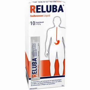 Abbildung von Reluba Sodbrennen Liquid Suspension 10 Stück