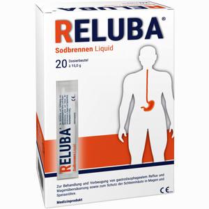 Abbildung von Reluba Sodbrennen Liquid Suspension 20 Stück