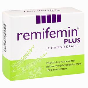 Abbildung von Remifemin Plus Johanniskraut Filmtabletten 100 Stück
