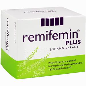 Abbildung von Remifemin Plus Johanniskraut Filmtabletten 180 Stück