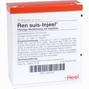 Abbildung von Ren Suis- Injeel Ampullen  10 Stück