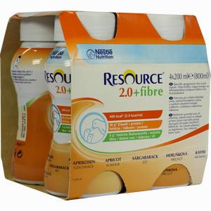 Abbildung von Resource 2,0 Fibre Aprikose 4 x 200 ml