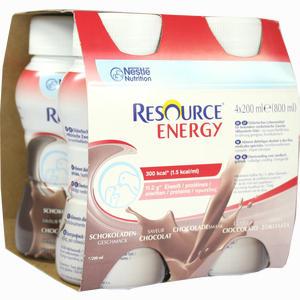 Abbildung von Resource Energy Schokolade Fluid 4 x 200 ml
