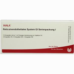 Abbildung von Reticuloendotheliales System Gl Serienpackung I Ampullen  10 x 1 ml