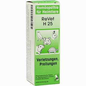 Abbildung von Revet H 25 Vet. Globuli 10 g