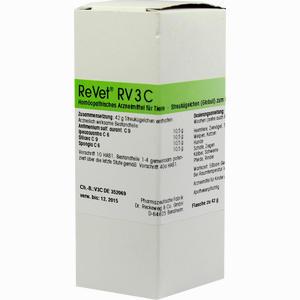 Abbildung von Revet Rv 3c Vet Globuli  42 g