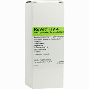 Abbildung von Revet Rv 4 Vet Globuli  42 g