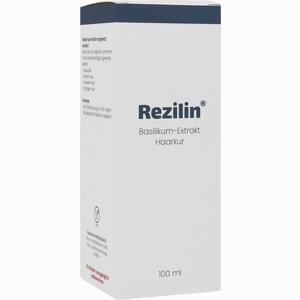 Abbildung von Rezilin Basilikum- Extrakt Haarkur 100 ml