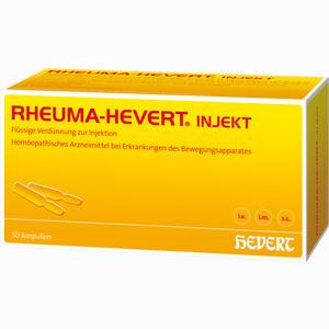 Abbildung von Rheuma- Hevert Injekt Ampullen 50 x 2 ml