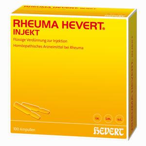 Abbildung von Rheuma Hevert Injekt Ampullen 100x2 ml
