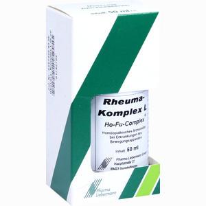 Abbildung von Rheuma- Komplex L Ho- Fu- Complex Tropfen 50 ml