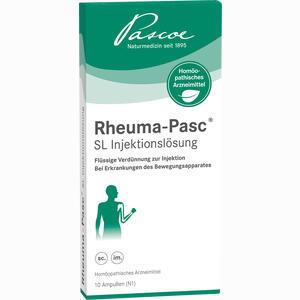 Abbildung von Rheuma- Pasc Sl Injektionslösung  10 x 2 ml