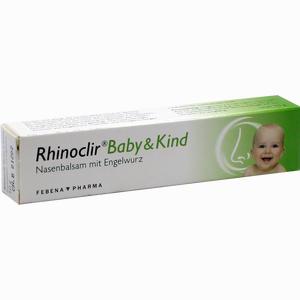 Abbildung von Rhinoclir Baby & Kind Balsam 10 g