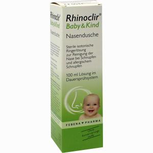 Abbildung von Rhinoclir Baby & Kind Nasendusche Lösung 100 ml