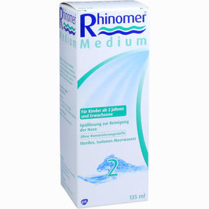 Abbildung von Rhinomer 2 Medium Lösung  135 ml